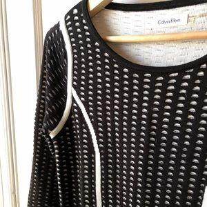 Calvin Klein long sleeved dress